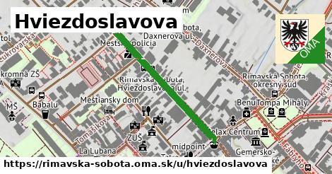 ilustrácia k Hviezdoslavova, Rimavská Sobota - 323m
