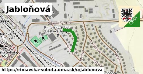 ilustrácia k Jabloňová, Rimavská Sobota - 168m