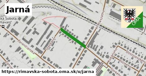 ilustrácia k Jarná, Rimavská Sobota - 157m
