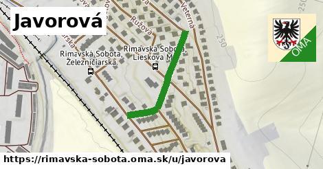 ilustračný obrázok k Javorová, Rimavská Sobota
