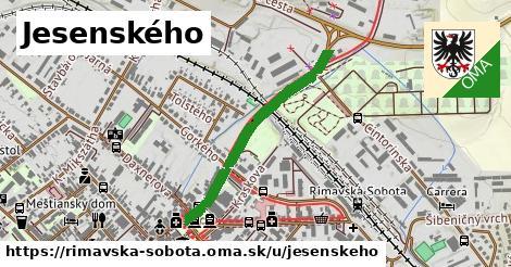 ilustrácia k Jesenského, Rimavská Sobota - 663m