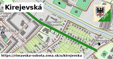 ilustrácia k Kirejevská, Rimavská Sobota - 611m