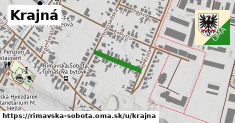 ilustrácia k Krajná, Rimavská Sobota - 160m