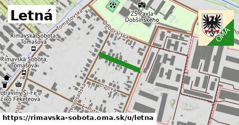 ilustrácia k Letná, Rimavská Sobota - 137m