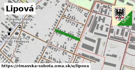 ilustrácia k Lipová, Rimavská Sobota - 145m