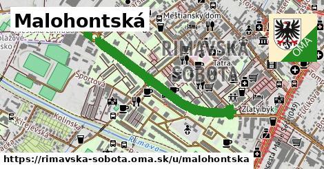 ilustrácia k Malohontská, Rimavská Sobota - 1,59km