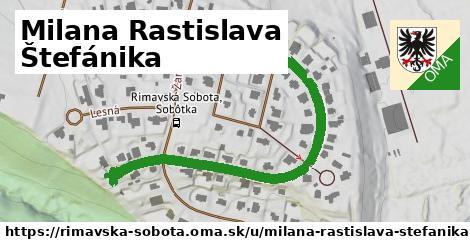 ilustrácia k Milana Rastislava Štefánika, Rimavská Sobota - 0,72km