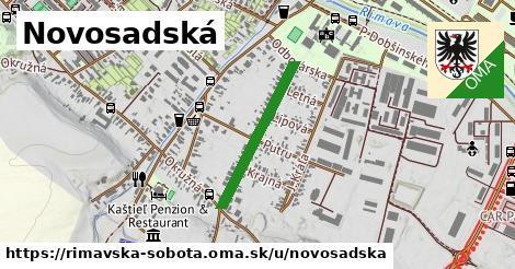 ilustrácia k Novosadská, Rimavská Sobota - 479m