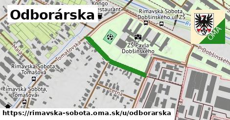 ilustrácia k Odborárska, Rimavská Sobota - 237m