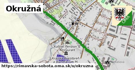 ilustrácia k Okružná, Rimavská Sobota - 1,06km