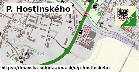 ilustrácia k P. Hostinského, Rimavská Sobota - 1,48km