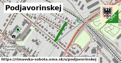 ilustrácia k Podjavorinskej, Rimavská Sobota - 138m