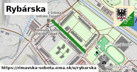 ilustrácia k Rybárska, Rimavská Sobota - 250m