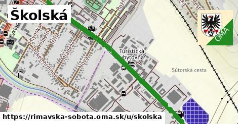ilustrácia k Školská, Rimavská Sobota - 1,38km