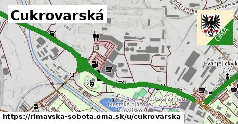 ilustrácia k Cukrovarská, Rimavská Sobota - 2,7km