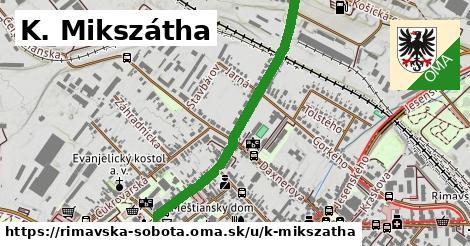 ilustrácia k K. Mikszátha, Rimavská Sobota - 0,86km