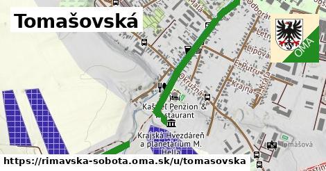 ilustrácia k Tomašovská, Rimavská Sobota - 1,33km