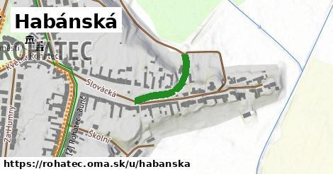 ilustrácia k Habánská, Rohatec - 181m