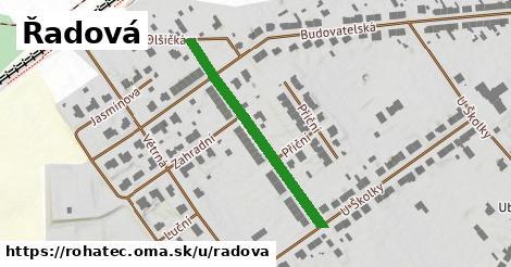 ilustrácia k Řadová, Rohatec - 334m