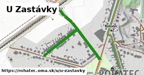 ilustrácia k U Zastávky, Rohatec - 555m