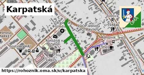 ilustrácia k Karpatská, Rohožník - 269m