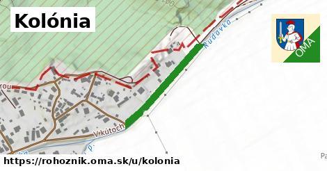 ilustrácia k Kolónia, Rohožník - 417m