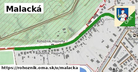 ilustrácia k Malacká, Rohožník - 651m