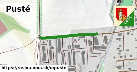 ilustrácia k Pusté, Rosina - 315m