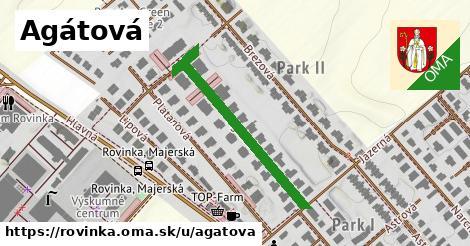 ilustrácia k Agátová, Rovinka - 308m