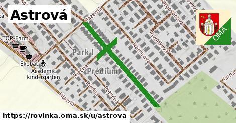 ilustrácia k Astrová, Rovinka - 354m