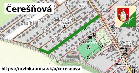 ilustrácia k Čerešňová, Rovinka - 400m