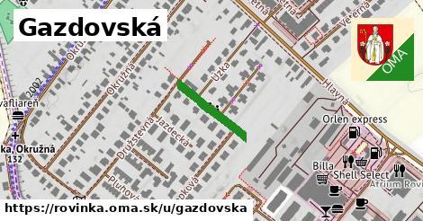 ilustrácia k Gazdovská, Rovinka - 421m