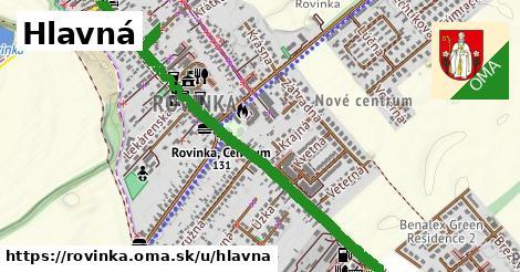 ilustrácia k Hlavná, Rovinka - 2,2km