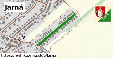 ilustrácia k Jarná, Rovinka - 322m