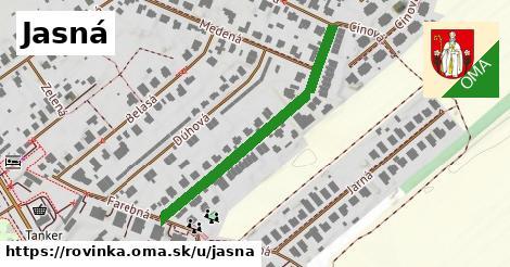 ilustrácia k Jasná, Rovinka - 506m
