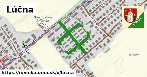 ilustrácia k Lúčna, Rovinka - 213m
