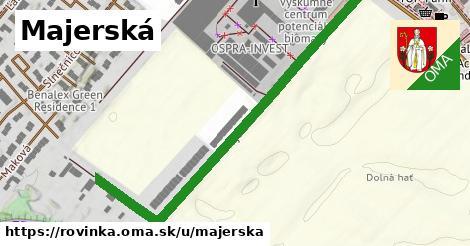 ilustrácia k Majerská, Rovinka - 621m