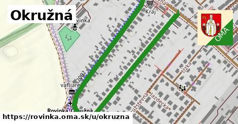 ilustrácia k Okružná, Rovinka - 0,96km
