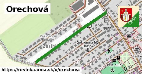 ilustrácia k Orechová, Rovinka - 459m