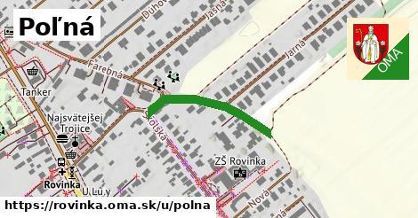 ilustrácia k Poľná, Rovinka - 495m
