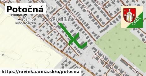ilustrácia k Potočná, Rovinka - 140m