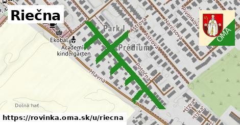 ilustrácia k Riečna, Rovinka - 329m