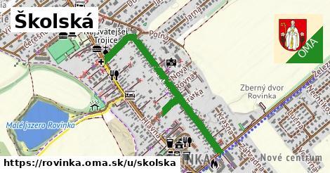 ilustrácia k Školská, Rovinka - 0,83km