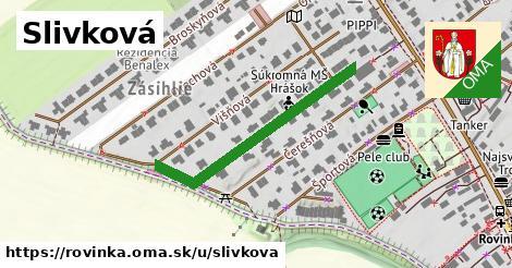 ilustrácia k Slivková, Rovinka - 323m