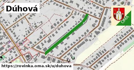 ilustrácia k Dúhová, Rovinka - 327m