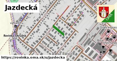 ilustrácia k Jazdecká, Rovinka - 90m