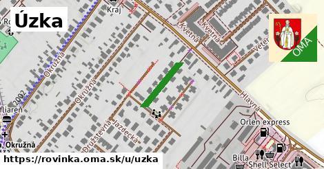 ilustrácia k Úzka, Rovinka - 124m
