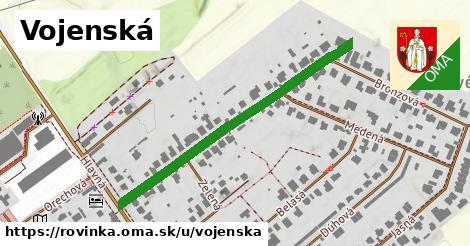 ilustrácia k Vojenská, Rovinka - 455m