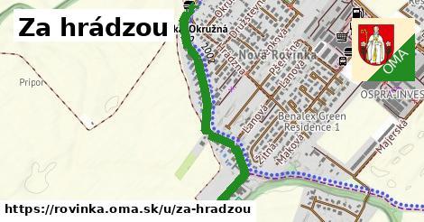 ilustrácia k Za hrádzou, Rovinka - 0,85km