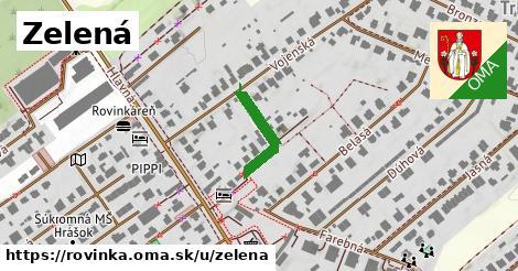 ilustrácia k Zelená, Rovinka - 161m